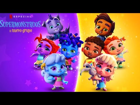 Supermonstruos El Nuevo Grupo Trailer En Espanol Latino L Especial Netflix Youtube
