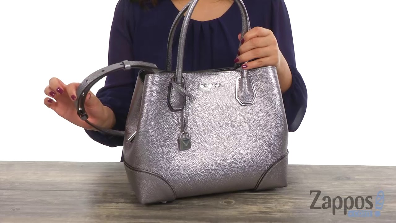 ed661634de83 MICHAEL Michael Kors Mercer Corner Medium Center Zip Tote SKU: 9018370