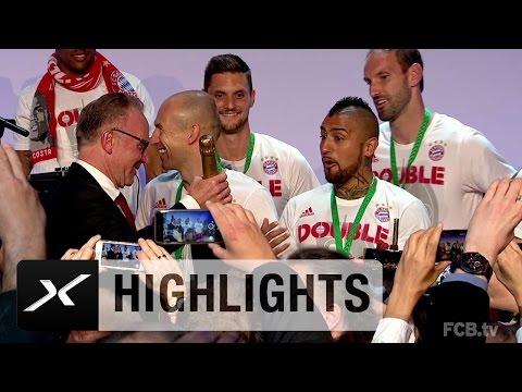 """Ständchen vom Chef für """"Krieger"""" Arturo Vidal   FC Bayern München - Borussia Dortmund 4:3 i.E."""