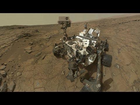 Un año del Curiosity en dos minutos