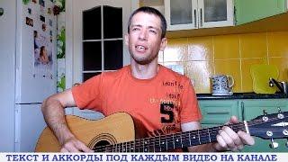 Вячеслав Быков - Любимая моя (гитара, кавер дд)