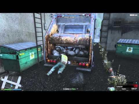 GTA V - Atualização Heists\Assaltos: Trevor/Serie A - Caminhão de lixo