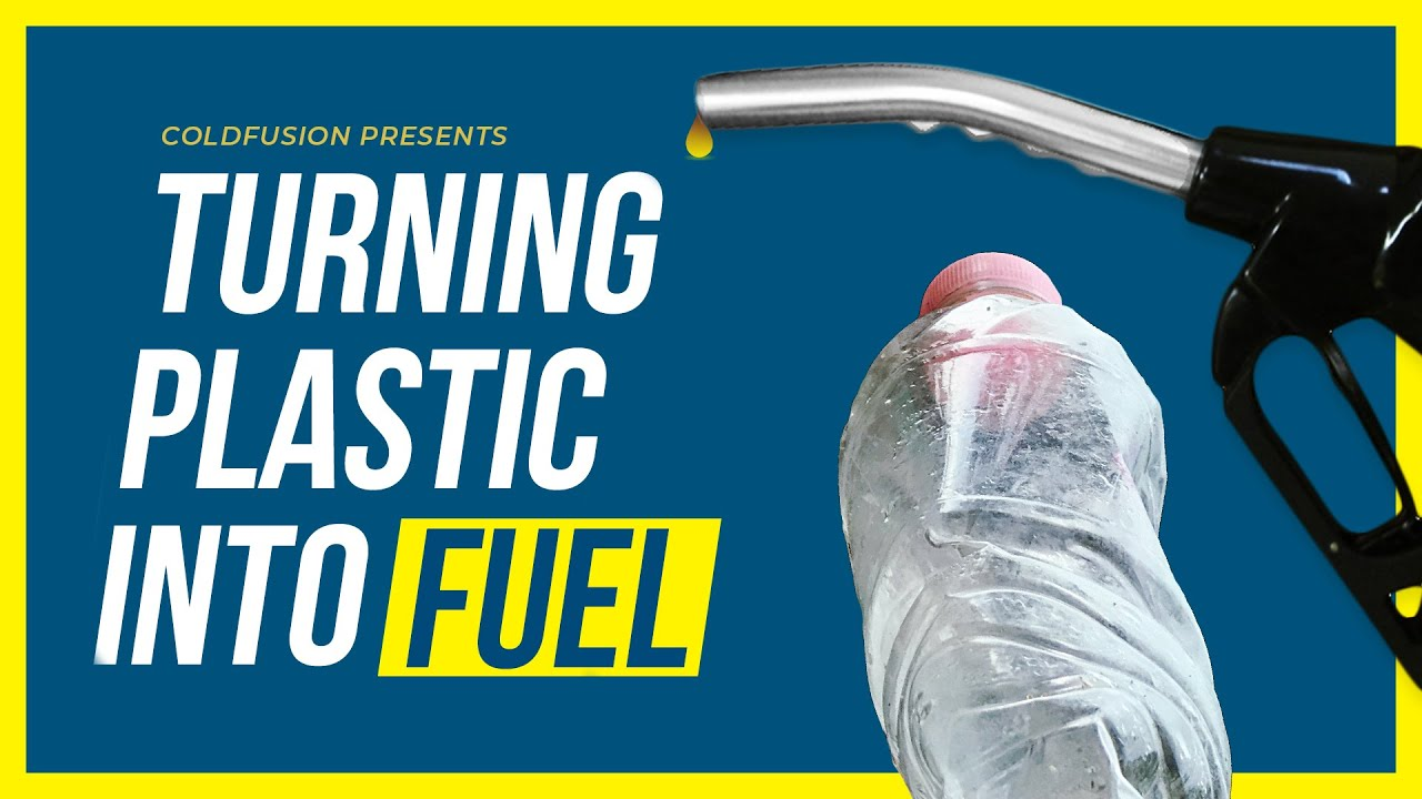 Turning Plastic Waste into Jet Fuel!