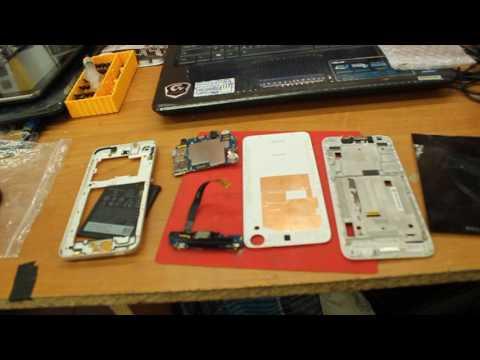 HTC Desire 626g - ревизия экранов. Сломался датчик приближения