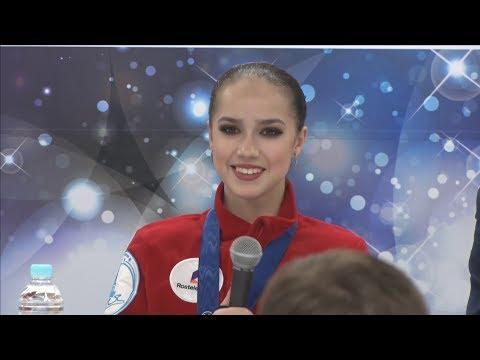 Alina Zagitova World Champs 2019 FS Press