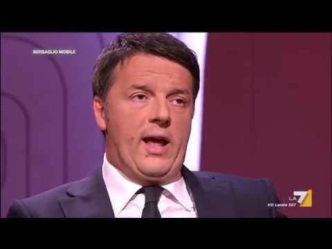 Matteo Renzi a Bersaglio Mobile su La 7
