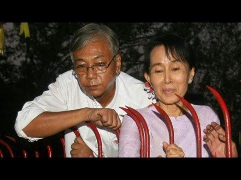Aung San Suu Kyi no buscará ser presidenta de Birmania
