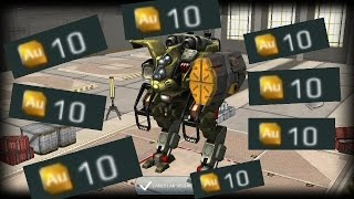 WAR ROBOTS-(COSSARK)+R40M ORKAN🚩------⚠GOLD⚠GOLD⚠GOLD⚠GOLD⚠(WR)