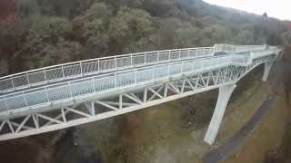 Fpv Quadcopter Gem Bridge Near Tavistock, Devon Uk