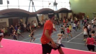 Alex Fomin & Morgan Moreau , dance aerobics