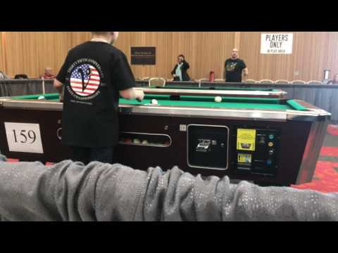 DJ Summers - 2017 PA State Pool Tournament...