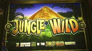 Jungle Wild Slot Machine Bonus-$1 denomination-WMS