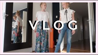 VLOG, shopping & sleepover - izaandelle