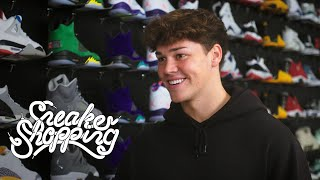 Noah Beck Goes Sneaker Shopping With Complex