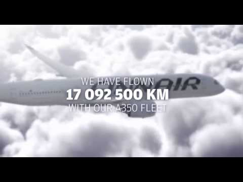 The first year of Finnair A350