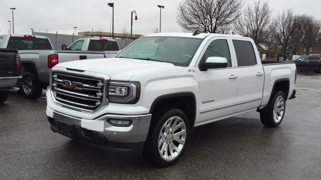2016 Gmc Sierra 1500 4wd Crew Cab Slt 22 Machine Wheels Mills Motors Buick Oshawa Stock 160496 You