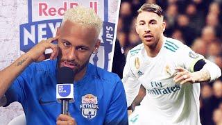 Ronaldo Messi Neymar football stars reveal their toughest opponent Oh My Goal