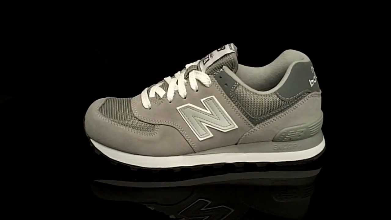 New Balance ML574 Sneaker 80s Suede BCO Grey