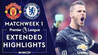 Manchester United v Chelsea  PREMIER LEAGUE HIGHLIGHTS  81119  NBC Sports