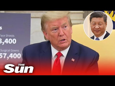 Donald Trump threatens to cut ties with China over coronavirus, From YouTubeVideos