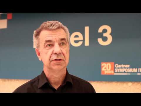 Steve Prentice, Gartner, at Symposium/ITxpo Cannes...