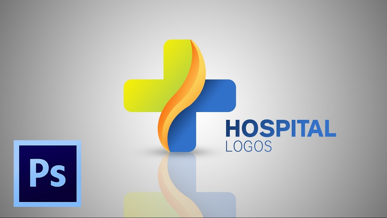 tutorial how to make hospital logo photoshop cc youtube