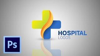 TUTORIAL HOW TO MAKE HOSPITAL LOGO #PHOTOSHOP CC