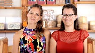 Les Filles gehen online – Télé Gourmet by Maître Philippe & Filles: Käse richtig schneiden