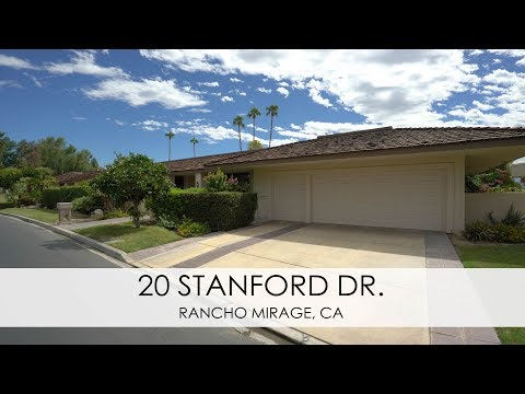 20 Stanford Drive, Rancho Mirage  in The Springs Country Club