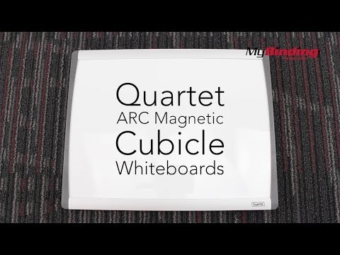 Quartet ARC Magnetic Cubicle Whiteboards