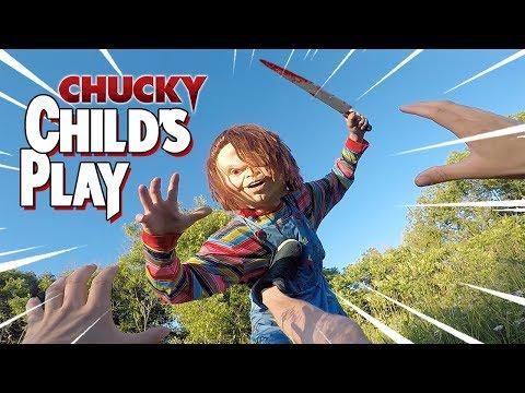 Chucky VS Parkour POV in Real Life
