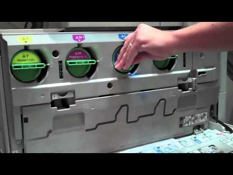 How to Replace Toner in a Ricoh Color Copier