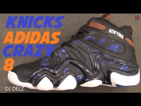 low priced c7cb3 492eb Crazy With djdelz 2015 Knicks Allstar 8 Youtube Adidas Sneaker qwBv6q