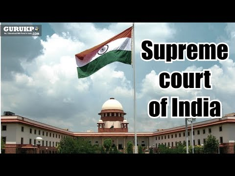 """Supreme court of India"" BA Public Administration Gurukpo"