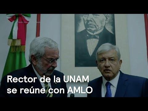 AMLO se reúne con Enrique Graue, rector de la UNAM - En Punto con Denise Maerker
