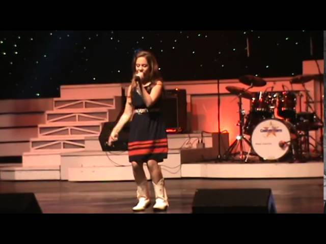 Erin Ott singing God Bless the USA by Lee Greenwood
