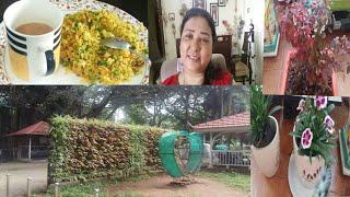 Divya Vlogs/Indian mom daily life routine/Indian vlogger/vlogs india hindi/botanical garden vlogs