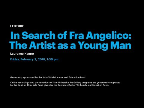 In Search of Fra Angelico: The Artist as a Young Man
