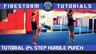 Tumbling Tutorial 24: Step Hurdle Punch