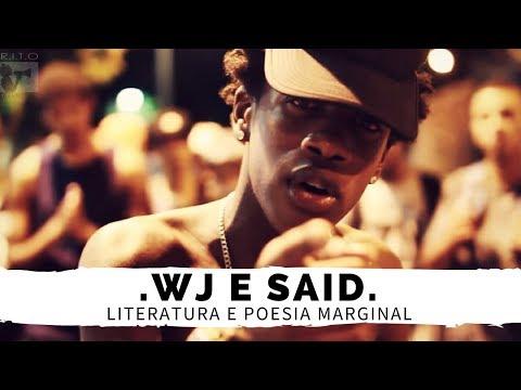"""LITERATURA E POESIA MARGINAL COM """"WJ & SAID"""""""