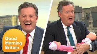 Piers Morgan's 'Papoose-Gate' Scandal | Good Morning Britain
