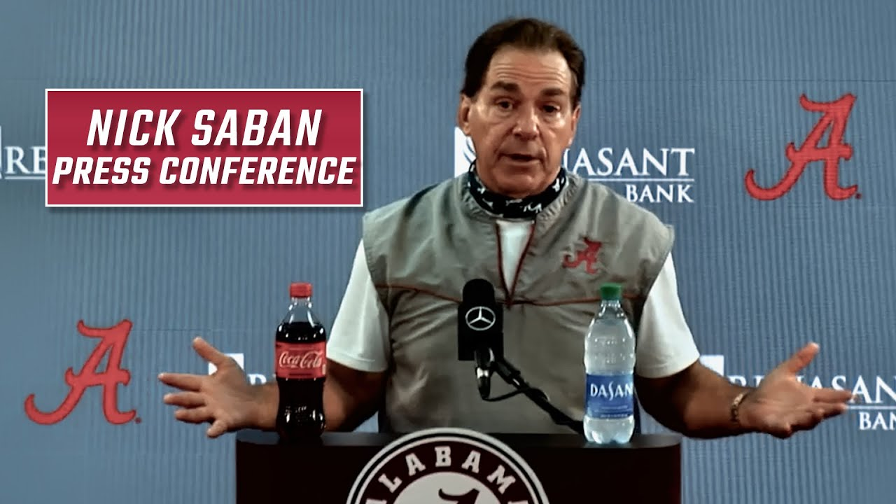Hear what Nick Saban had to say Wednesday evening as the Tide prepares to head to Knoxville