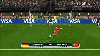PES 2017 | Germany vs Portugal | Penalty Shootout | Gameplay PC