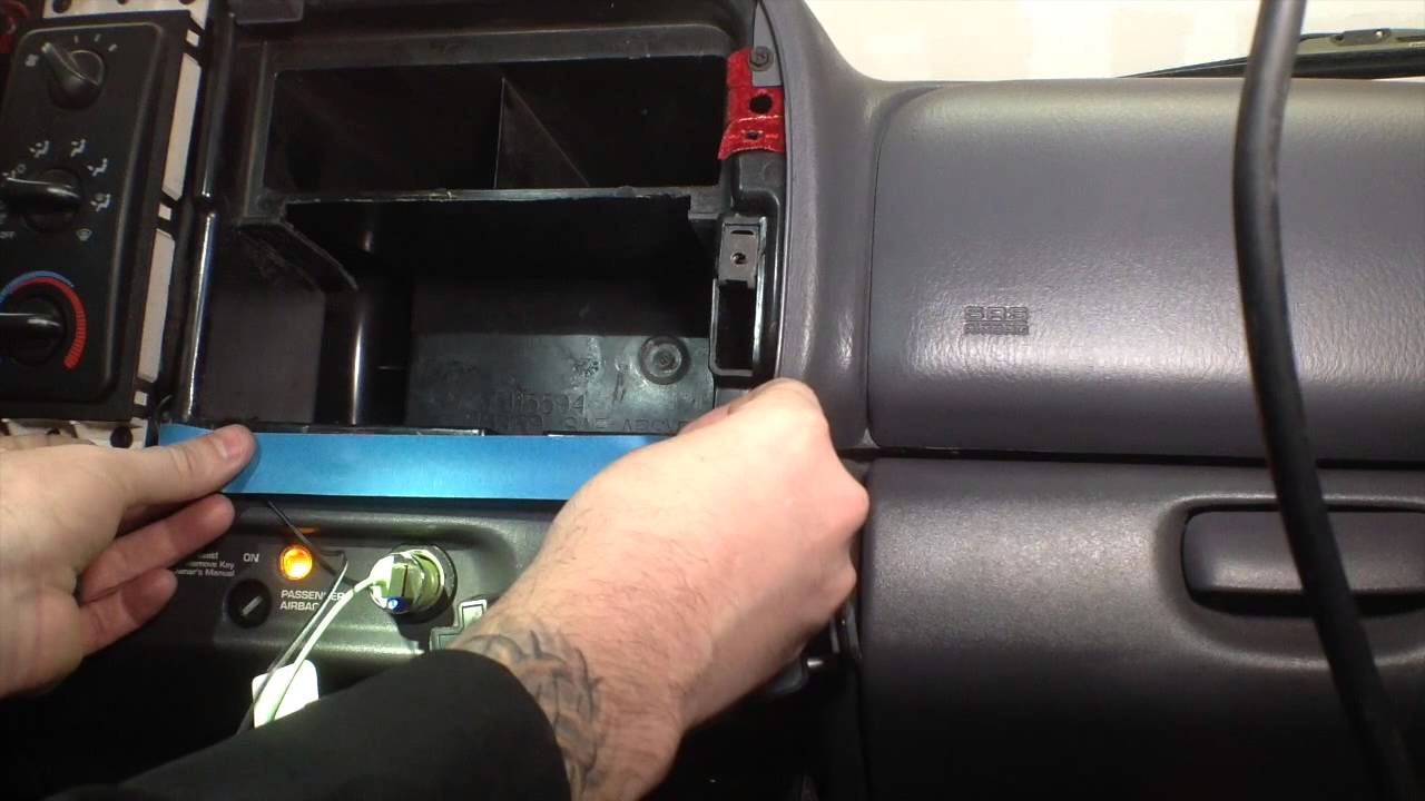 1998 Dodge Dakota Double Din Install Part Ii Youtube