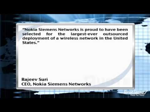 News Update:Nokia Siemens Network Clinches $7B Wireless Broadband Development Contract (NOK)
