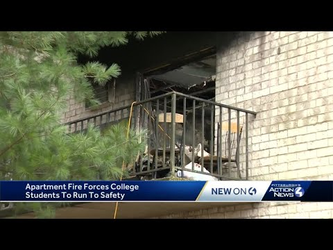 Fire at Robinson Township building that houses Pittsburgh Technical College students