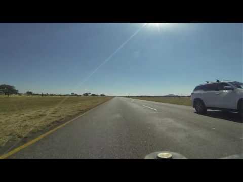 Rijden naar Grootfontein 10-6