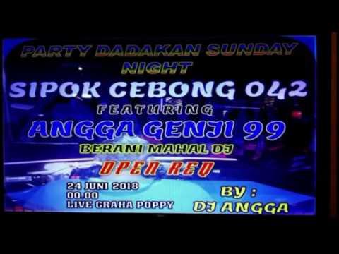 DJ ANGGA || HAPPY PARTY SIPOK CEBONG 042 FEATURING ANGGA GENJI 99 | BERANI MAHAL DJ