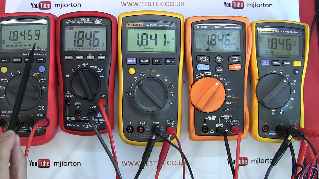 Review Mid Range Priced Multimeter Shootout Buyers