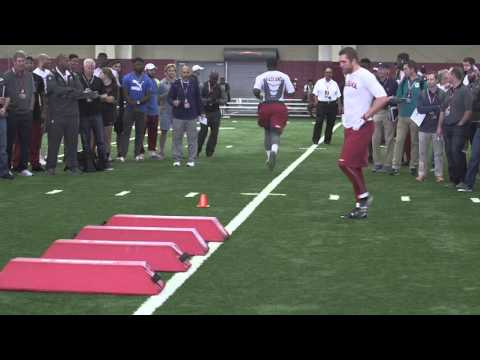 Watch Reggie Ragland do drills at Pro Day in Tuscaloosa